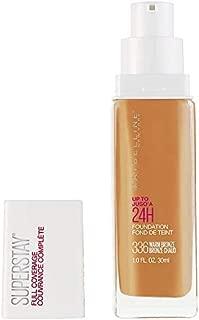 Maybelline New York Super Stay Full Coverage Liquid Foundation Makeup, Warm Bronze, 1 Fl Oz