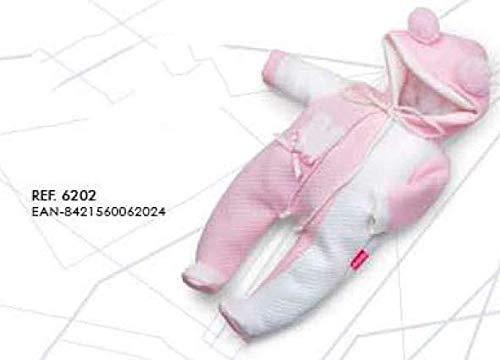 Berjuan- Vestido Baby SUSU Pijama Buzo Ref 6202-19