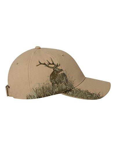 DRI Duck Elk Cap - Twill Size: One Size Fits All Khaki