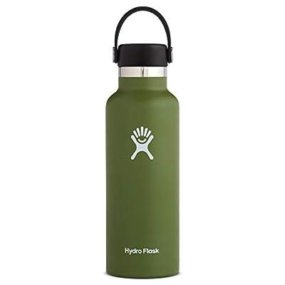 Hydro Flask Stndrd Mouth W Stndrd Flex Cap Olive 18 Ounce, 1 EA