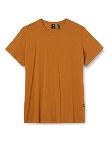 G-STAR RAW Men's Base-s Round Neck T-Shirt, Oxide Ocre 336-1329, XL