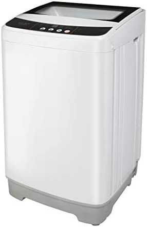 ROVSUN Full Automatic Washing Machine Compact 13lbs Portable Washer w 10 Programs 8 Water Levels product image