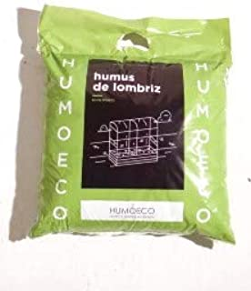 Humus DE LOMBRIZ- Fertilizante ORGÁNICO (10L