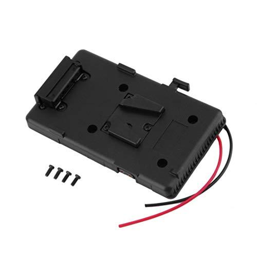 BiaBai Battery Back Pack Plate Adapter for Sony V-Shoe V-Mount V-Lock Battery External for DSLR Camcorder Video Light Hot
