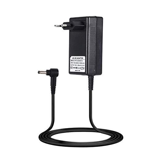 Queta Alimentation Secteur Chargeur pour Dyson pour Aspirateur Dyson V10 V11, chargeur de batterie Dyson 30V / 1100mA, prise standard européenne