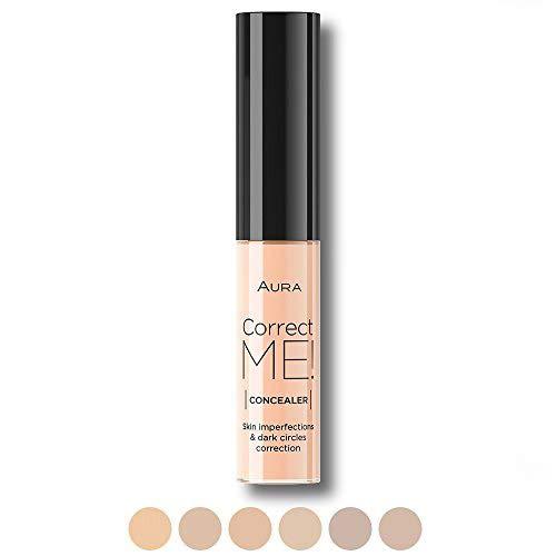 6 couleurs Correcteur Anti-cernes Fluide Correct ME liquide par Aura Cosmetique couleur Ivoir
