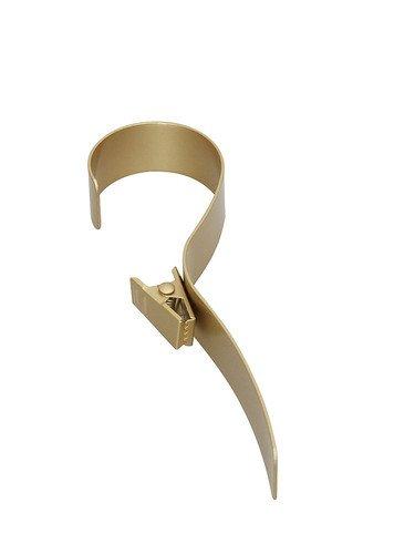 Cobra-Haken Gardinenhaken messing Dekohaken Gardinendekoration Feststellhaken für Gardinen
