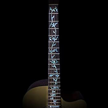 Guitar Fretboard Stickers Markers Inlay Sticker Decals for Bass Electric & Acoustic Guitars  life tree