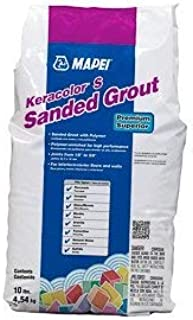MAPEI Keracolor S Sanded Powder Grout - 10LB/Bag - Premium Superior (11 Sahara Beige)