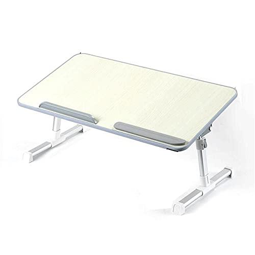 LICHUAN Mesa plegable para ordenador portátil, portátil, mini escritorio, picnic, portátil, soporte de lectura, soporte de lectura para el hogar, oficina, dormitorio (tamaño: 60 cm)