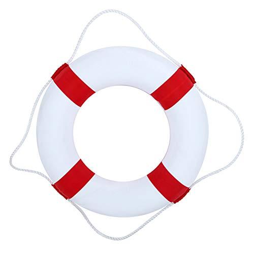 WUFENG Professioneller Solider Schwimmring, Rettungsring aus Schaumstoff für Kinder, leichte Sicherheitsschwimmringe für Pool Float Party Watersport