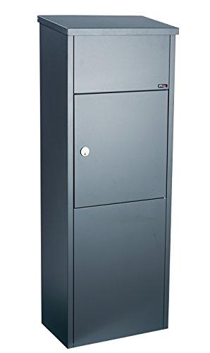 Anthrazit Allux Grundform F54517 Briefkasten 530 x 380 x 250 mm