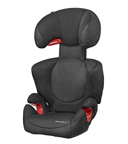 Bébé Confort Rodi XP, Siège-Auto Groupe 2/3 (15 à 36 kg), Avec Système De Protections Latérales, de 3,5 à 12 ans, Night Black
