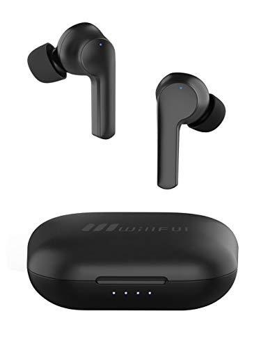 Willful Auriculares Bluetooth, Auriculares Inalámbricos Bluetooth 5.0 para Samsung Huawei PC móvil Auricular con Micrófono 25 horas de Duración de la Batería Asistente de voz Impermeable