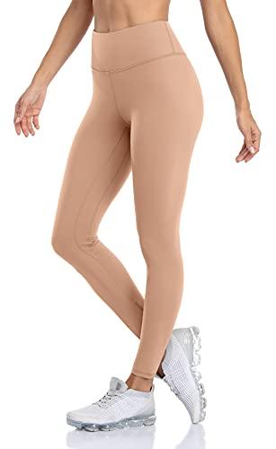 Anwell Seamless - Mallas deportivas para mujer con bolsillo para fitness Seamless color carne XL