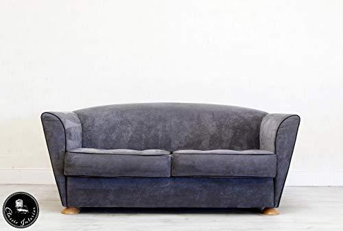 Classic Interior COR Designer Sofa Sessel Hocker Leder Alcantara Couch Retro