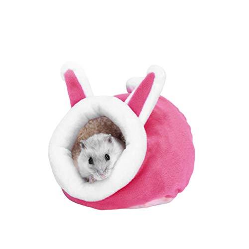 FSHB, Jaula de hámster para Mascotas cálida y Bonita, casa de Conejillo de Indias, Chinchillas, Cama de Ardilla, Nido, Accesorios para Animales pequeños