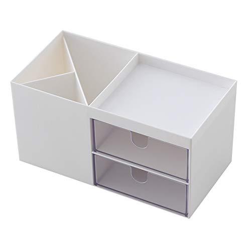 ARMAC Caja de cosméticos con cajón, multifunción, caja de almacenamiento de maquillaje, accesorios de tocador, soporte de exhibición