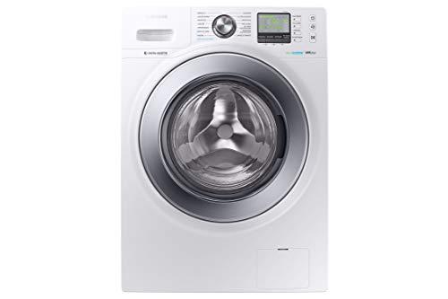 SAMSUNG - Lavasecadora WD80M4A53IW Estándar Serie 6 8kg/4.5kg, A, Carga Frontal, Color Blanco, Tecnología EcoBubble, Motor Digital Inverter, AirWash, Lavar+Secar 59´