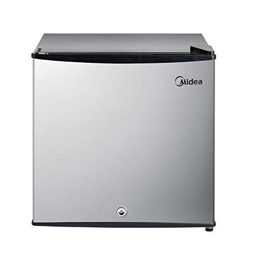 Midea MRU01M3ASL Freezer, 1.1 Cu.ft, Stainless Steel, 30 Pounds