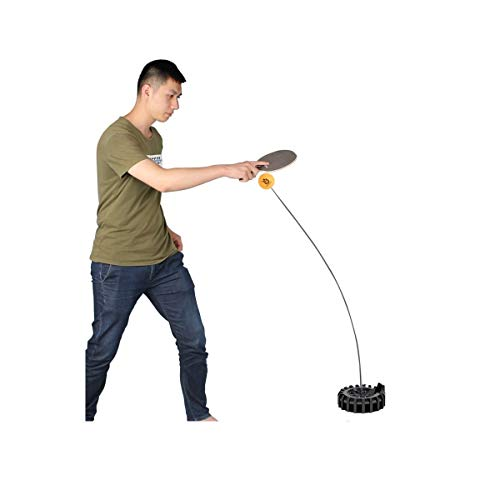 KMDSM Principiantes artefacto de Entrenamiento de Tenis de Mesa, Tenis de Mesa Ejes Flexibles, Deportes de Interior de Doble máquina de Entrenamiento del Ping-Pong (Size : 1.1m)