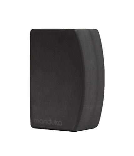 Manduka unBLOK High Density Recycled EVA Foam Yoga Block – Ergonomic Support for Stability Comfort and Balance in Any Yoga Pose