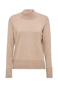 ESPRIT Damen 119EE1I020 Pullover, Braun (Taupe 5 244), Small (Herstellergröße: S)