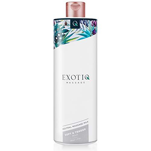 Exotiq - Massagemilch Öl 500ml Vorspiel Erotik Intim Tantra Thai Liebesöl