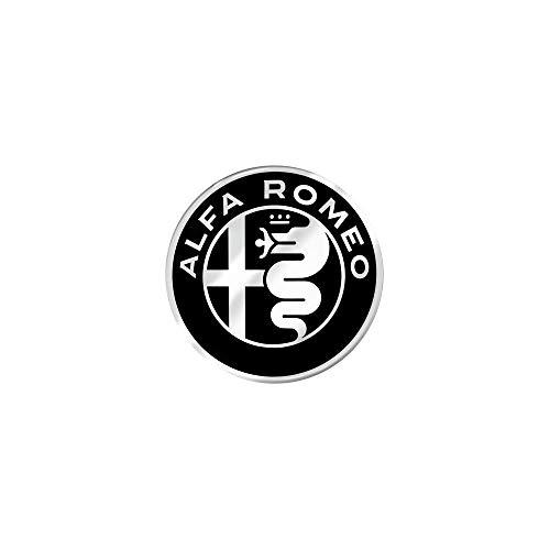 Alfa Romeo 21830 Adesivi 3D Ufficiali Logo, Diam. 40 mm