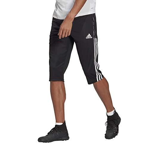 adidas mens Tiro 21 3/4 Pants Black Large