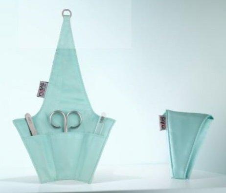 Rubis 3 Piece Manicure Set, Tiffany Blue 1K420TB