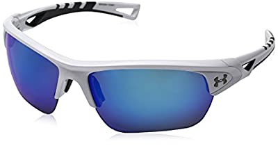 Under Armour Octane Sunglasses Wrap, White/Gray Lens, M/L
