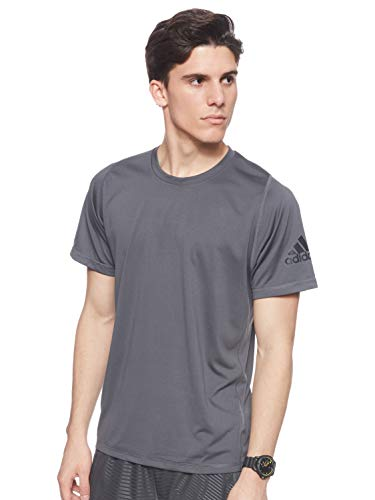 adidas Freelift Ultimate Solid T Camiseta, Hombre, Gris (