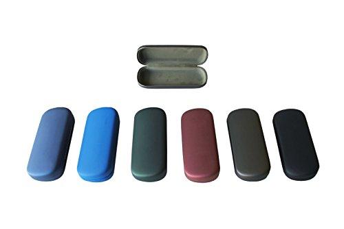 """PGV Brillenetui""""MELINA"""" - 160 mm x 65 mm x 30 mm - farbig bunter Mix (5 Stück)"""