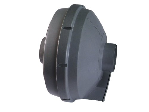 Tjernlund R3HF Deluxe Radon Mitigation Fan, 163 CFM, 3.4' Outdoor UL