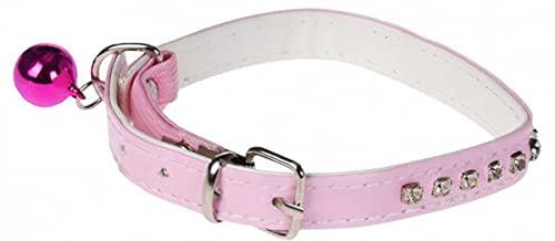 Cats Collection Collar de gato diamante 30 x 1,3 cm, rosa
