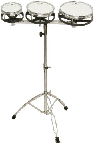 Z9V49 - Musikinstrument SET OF 3 ROTOTOMS mit klappbarem Dreibein