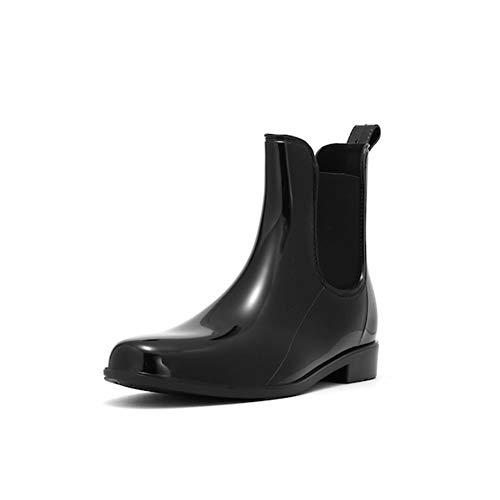 TRIWORIAE - Botas de goma para mujer, color Negro, talla 39 EU