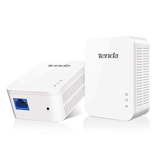 Tenda PH3 1000Mbps Powerline Adapter Kit with Single Port/Home Plug AV2 UK...