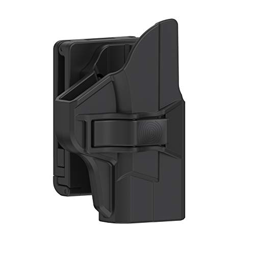 TEGE M&P Shield 9mm Holster, Polymer OWB Belt Holster Fits S&W M&P Shield 9mm/.40 3.1