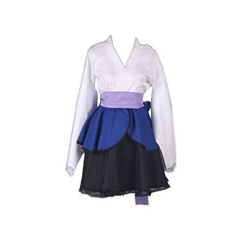 Anime Naruto Uchiha Sasuke Carnaval de Halloween Disfraz de Cosplay Kimono Casual Kimono Japonés Vestido Tamaño