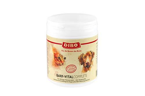 BARF-Vital-Complete, 450g-Dose, Nahrungsergänzung als gesunde, natürliche Ernährung für Hunde und Katzen von DIBO, Hundefutter, BARF, B.A.R.F.