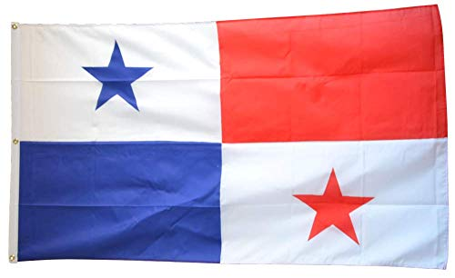 Flaggenfritze Fahne/Flagge Panama - 150 x 250 cm + gratis Sticker, XXL-Fahne
