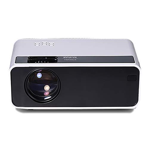 Support USB/SD Card/Audio/VGA/HDMI, Android 6.0, 4 inch 2800 Lumens 1280x720 Portable HD LED Projector with Distant Control -  U\C
