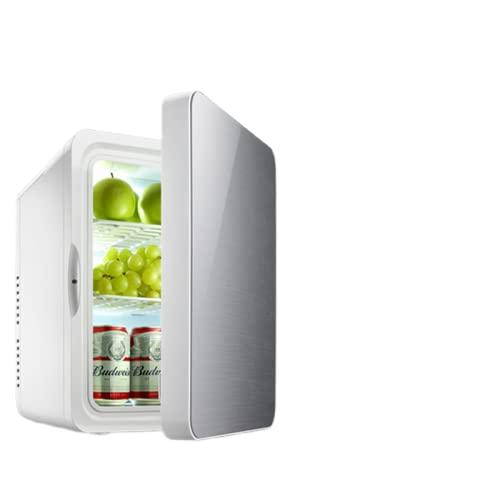 Mxsnow Mini Refrigerador para El Cuidado De Maquillaje Snjiaheim Refrigerador Portátil Refrigerador De Belleza Refrigerador para El Cuidado De La Piel-22Lsilver