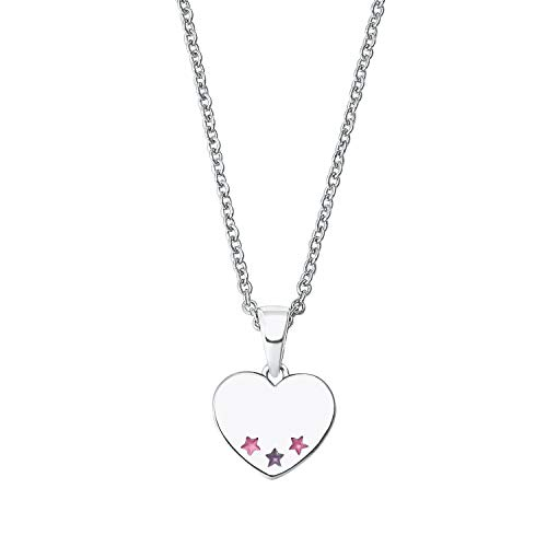 Prinzessin Lillifee 2027223 Mädchen Collier Herz 925 Silber rosa 38 cm