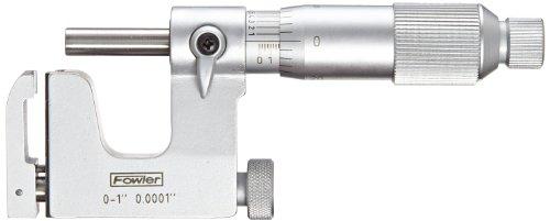 Fowler 52-252-001 Multi-Anvil Micrometer, 0-1' Measuring Range, 0.0001' Graduation