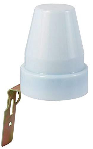 VELAMP MS012 Interruttore Crepuscolare per Uso Esterno IP44, Bianco