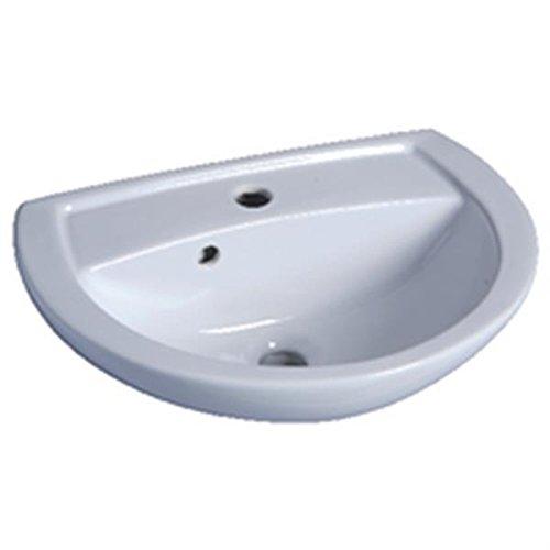 Waschbecken Bastia LG: 50cm Keramik weiß 00109900000