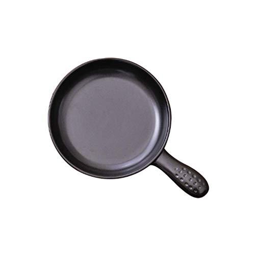 SPNEC Sartén, Antiadherente de Aluminio Forjado Negro Sartén, adecuados for cocinar Huevos, Tocino, panqueques